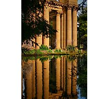 Classical Reflection Photographic Print