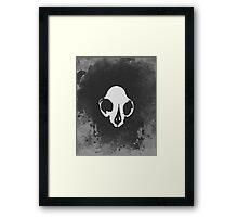 Crux (White) Framed Print