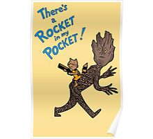 There's a Rocket in my Pocket! Poster