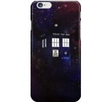 Doctor Who TARDIS in galaxy iPhone Case/Skin