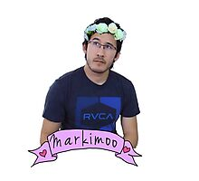 Markiplier (Level: Flower crown) Photographic Print