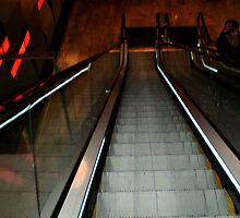 *Metal Elevator - Crown Casino - Melb. Vic. by EdsMum