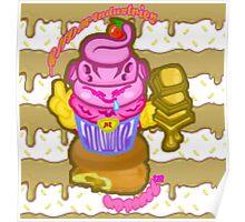 Majin's Chocolate Buu Cakes Poster