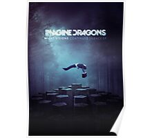 Imagine Dragons Album Morph-Blue Poster