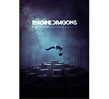 Imagine Dragons Album Morph-Blue Photographic Print