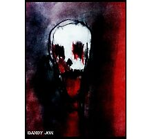 Of Red Death Photographic Print