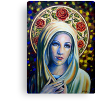 Holy Love of Mary Canvas Print
