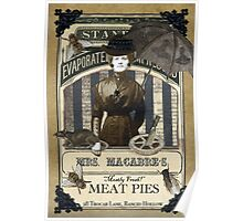 Mrs. Macabre's Meatpies Poster