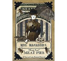 Mrs. Macabre's Meatpies Photographic Print