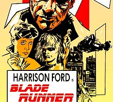 Blade Runner Poster by Cleanlined
