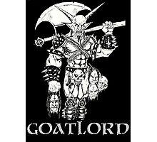 Goat Lord Censorship Photographic Print