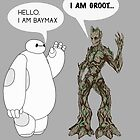 Baymax and Groot by Ztw1217