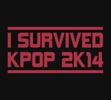 I SURVIVED KPOP 2K14 - BLACK Kids Clothes