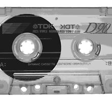 Cassette Tape by Kyle Willis
