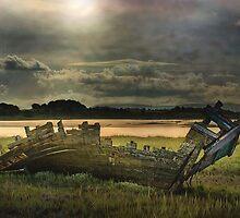 Dawn  at Fleetwood. by Irene  Burdell