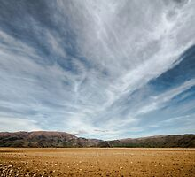 the road to queenstown, south island, new zealand by gary roberts