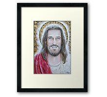 His Blessed Smile Framed Print