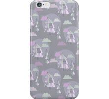 Cute pattern of christmas tree iPhone Case/Skin