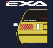 Nissan Exa Sportback - Yellow Kids Clothes