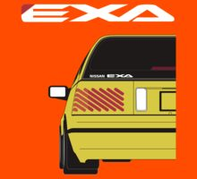 Nissan Exa Sportback - Yellow Kids Clothes