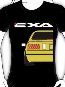 Nissan Exa Coupe - Yellow T-Shirt