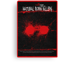 Natural Born Killers Canvas Print
