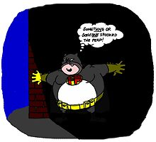 FATMAN's cover is blown! by mrcbrn