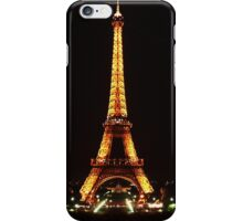 Eiffel Tower at Night. iPhone Case/Skin
