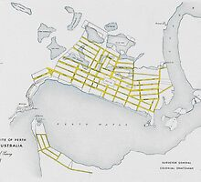 Perth Plan 1838 by GEAN