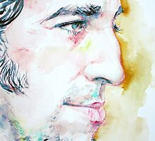 BRUCE SPRINGSTEEN profile portrait by lautir