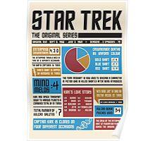 Star Trek Infographic Poster
