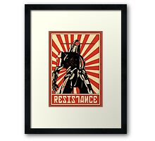Geth Resistance Legion Framed Print
