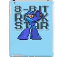 Megaman - 8-Bit Rockstar (Alternate) iPad Case/Skin