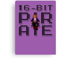 Guybrush - 16-Bit Pirate Canvas Print