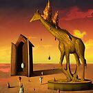 Cena com Girafa. by Marcel Caram