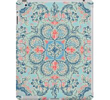 Gypsy Floral in Red & Blue iPad Case/Skin