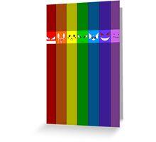 Rainbowkémon Greeting Card