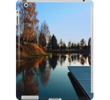 Romantic evening at the lake VI | waterscape photography iPad Case/Skin