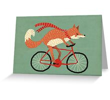 mr. fox Greeting Card