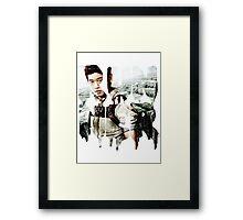 runner - minho Framed Print