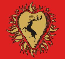 Stannis Baratheon Sigil - Golden Firey Heart by EvaEV