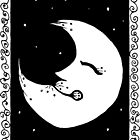 Inky Moon by Amy-Elyse Neer