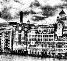 Butlers Wharf London Vintage by DavidHornchurch