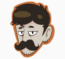 Geoff Sticker by intr0spection