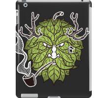 Hop Head Green Man iPad Case/Skin