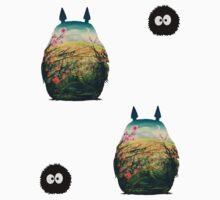Totoro sticker pack  by LTEP