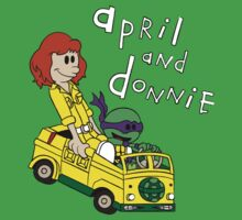 April and Donnie by leidemera