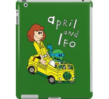 April and Leo iPad Case/Skin