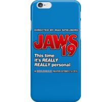 Jaws 19 - This time it's really really personal (Back to the Future) iPhone Case/Skin