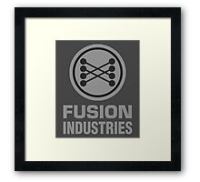 Fusion Industries - Back to the Future Framed Print